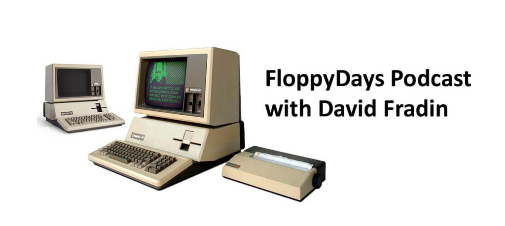 FloppyDays host Randy Kindig interviewing David Fradin