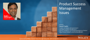 Product Success Management Issues - Raghu R - Episode - PSMI004