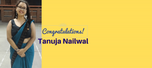 Congratulations to My Intern Tanuja Nailwal II