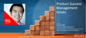 Product Success Management Issues - Albert Cheng - Episode - PSMI009