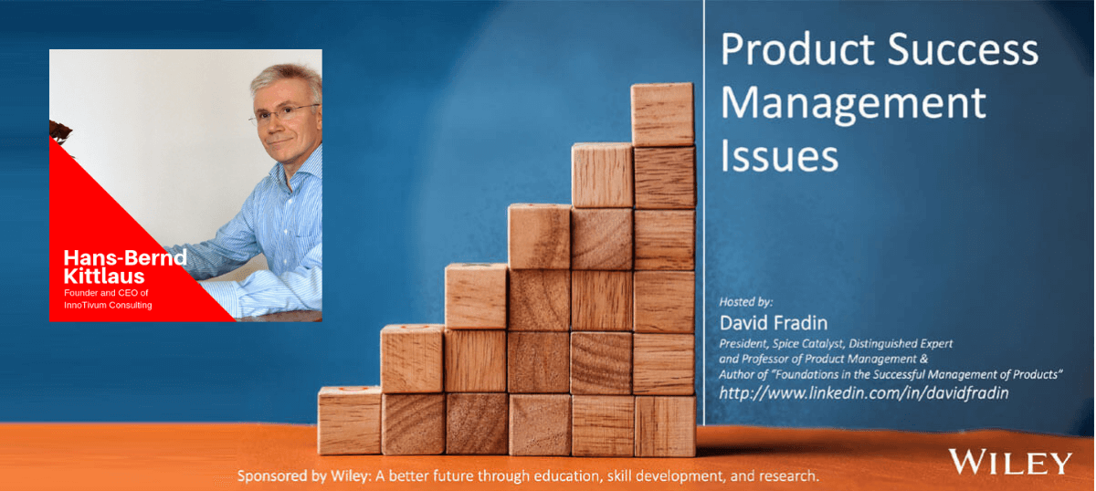Product Success Management Issues - Hans-Bernd Kittlaus - Episode - PSMI008