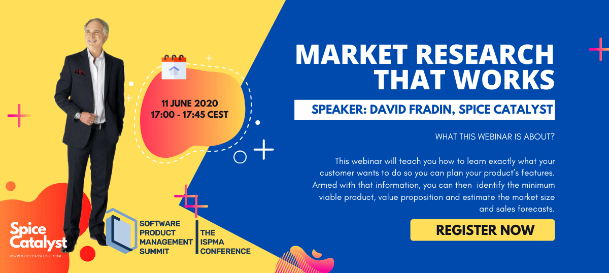 MARKET RESEARCH THAT WORKS DATE AND TIME 11 JUNE 2020 1700 1745 CEST SPEAKER DAVID FRADIN SPICE CATALYST